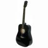 Акустична китара AF229 - 4/4 - черна с метални струни
