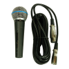 Качествен вокален кабелен микрофон M58 XLR ниска цена!