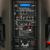 Караоке колона PS15-2U LED - 15 инча + радио и дисплей