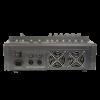Професионален миксер с вграден усилвател MA606 - 6 канален + дисплей