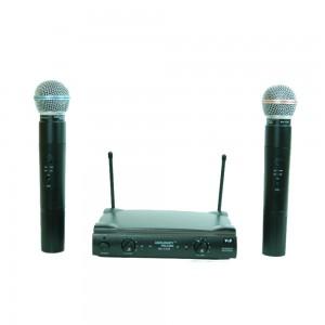 Двоен безжичен микрофон MAV 338