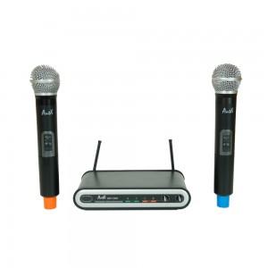 Двоен безжичен микрофон UHF 113