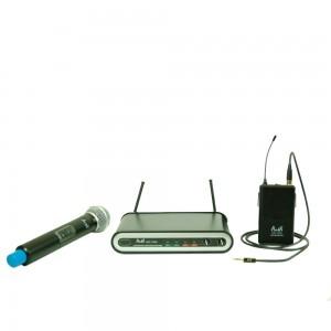 Двоен безжичен микрофон UHF 113CV