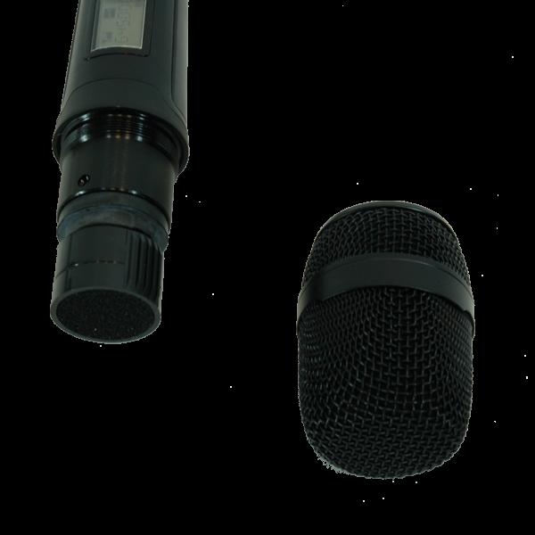 Единичен безжичен микрофон за пеене MU21