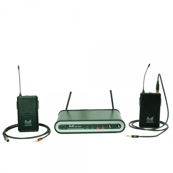 Двоен дистанционен микрофон UHF113CC