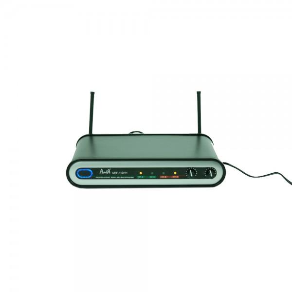 Комплект 2 безжични китарни микрофона UHF 113GG