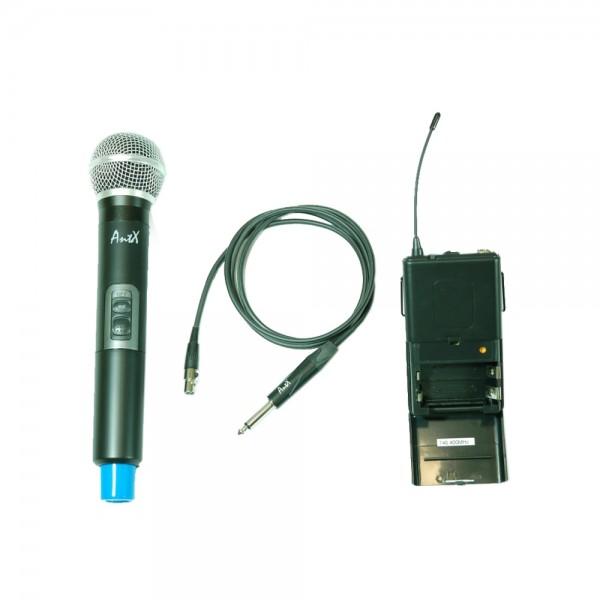 Двоен безжичен микрофон UHF 113VG