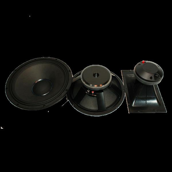 Мощна и качествена пасивна тонколoна - 2x15 инча - 900W