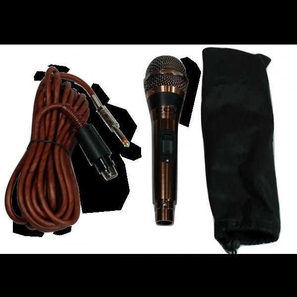 Качествен кабелен микрофон за пеене CV27