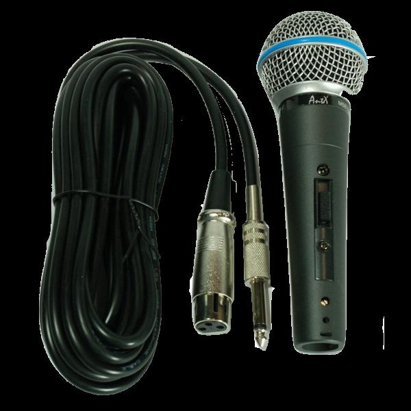 Качествен вокален кабелен микрофон M58 на топ цена!