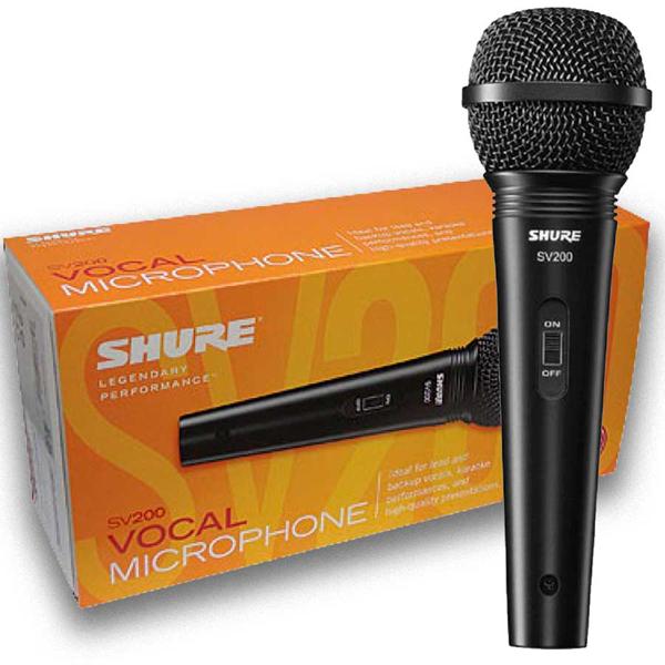 Динамичен кардиоиден вокален микрофон SHURE SV200