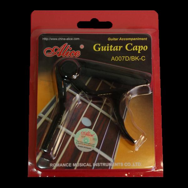 Каподастер за китара A007D-BK-C - топ оферта!