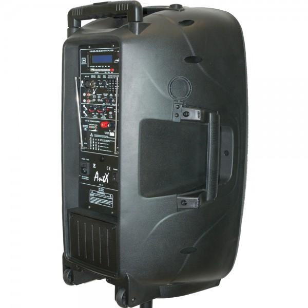 Караоке колона PS15H - 15 инча 100W + 2 микрофона