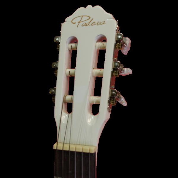 Класическа китара PC185 W Padova - бяла