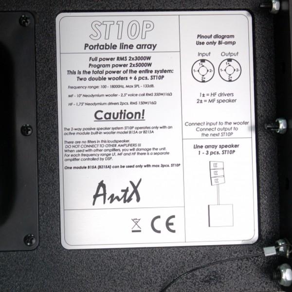 Линейна озвучителна система Line Array ST10P/B215A