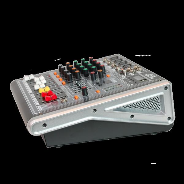 Мощен миксер с вграден усилвател MA400 - 4 канален