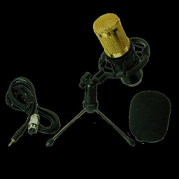 Компютърен , звукозаписен микрофон за стрийминг и подкаст