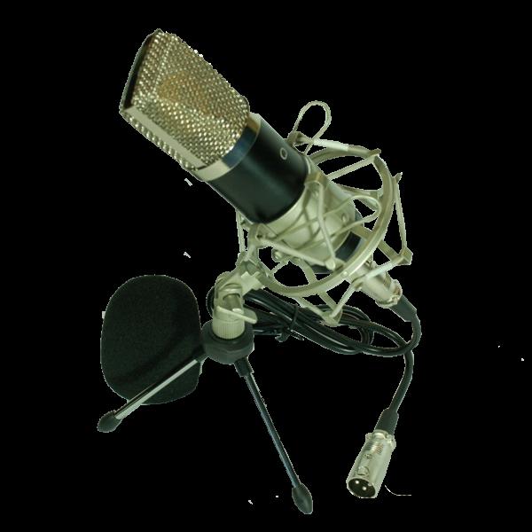 Студиен микрофон за звукозапис и подкасти