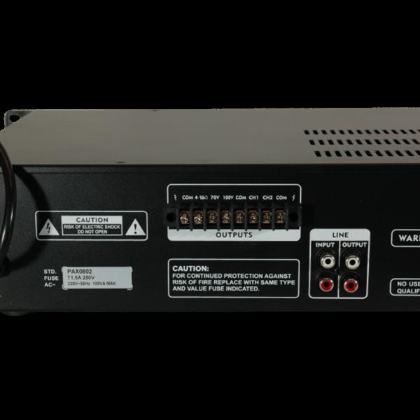 Усилвател 100 волта PAX 0802 80W - топ цена!